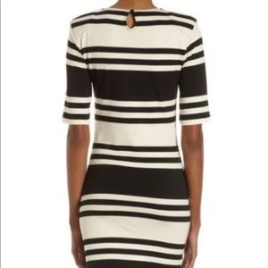 French Connection Dresses - French Connection Striped Bodycon Dress